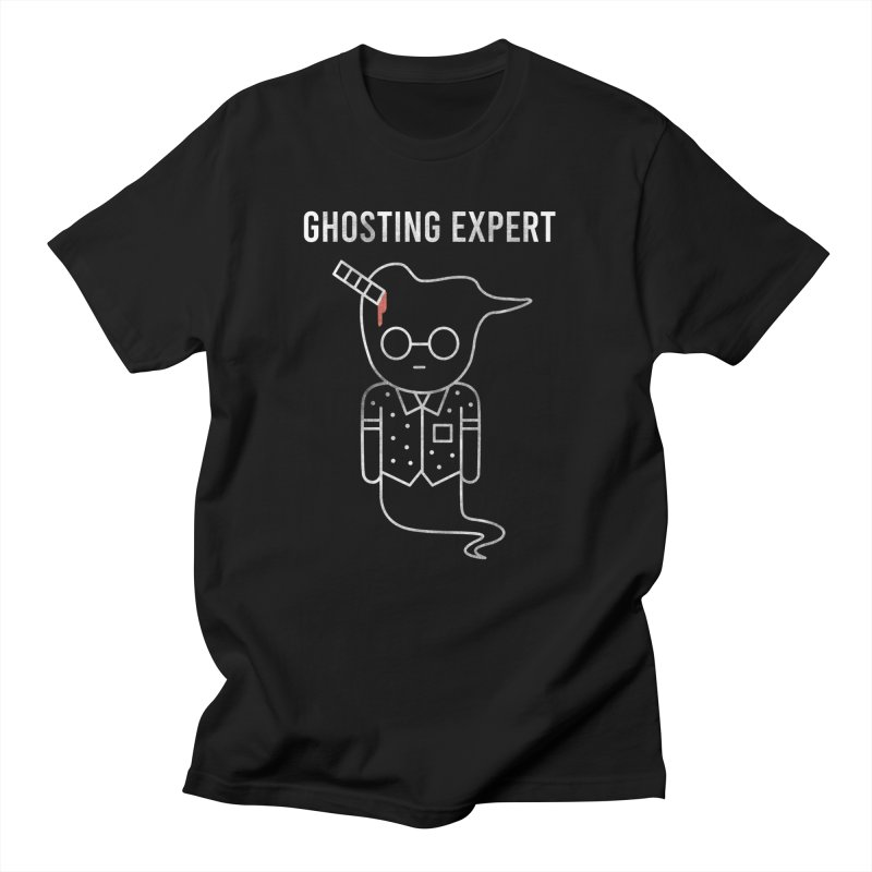 Ghosting Expert in Men's Regular T-Shirt Black by Daniel Stevens's Artist Shop