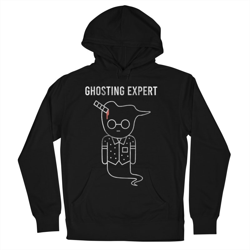 Ghosting Expert Men's French Terry Pullover Hoody by Daniel Stevens's Artist Shop