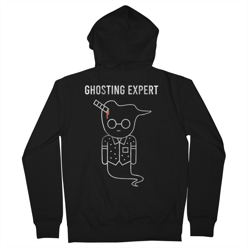 Ghosting Expert Women's French Terry Zip-Up Hoody by Daniel Stevens's Artist Shop