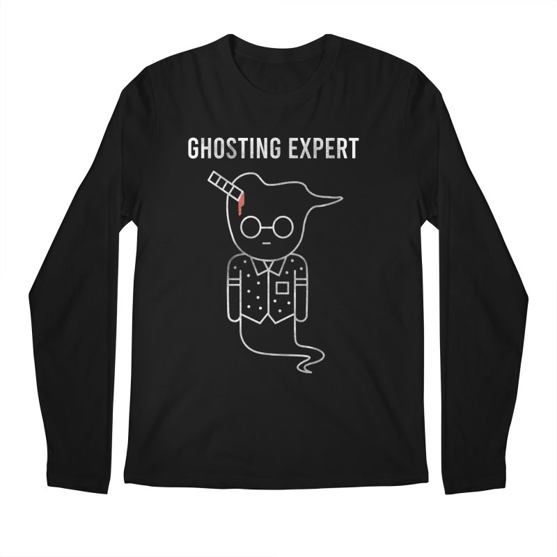 Ghosting Expert Men's Regular Longsleeve T-Shirt by Daniel Stevens's Artist Shop
