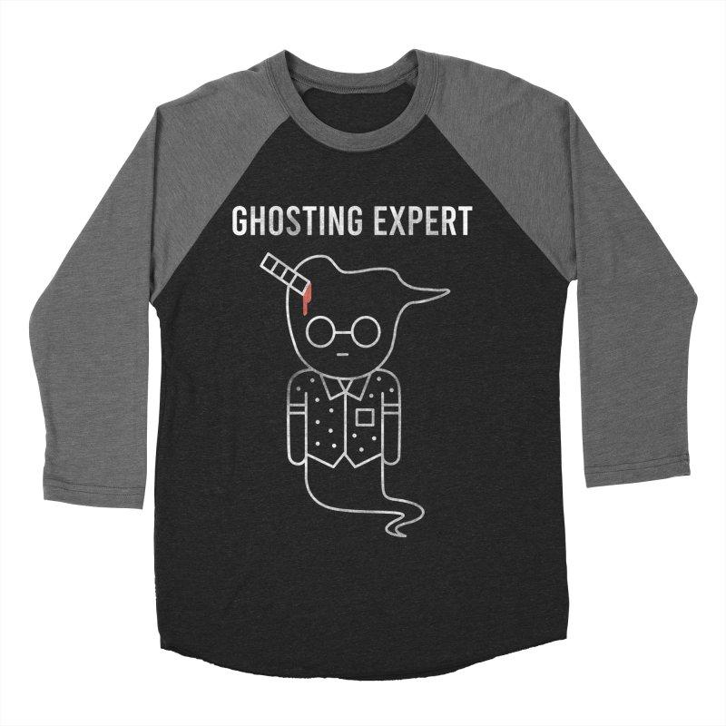 Ghosting Expert Men's Baseball Triblend Longsleeve T-Shirt by Daniel Stevens's Artist Shop