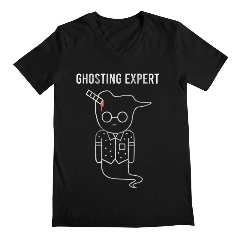 Ghosting Expert Men's V-Neck by Daniel Stevens's Artist Shop