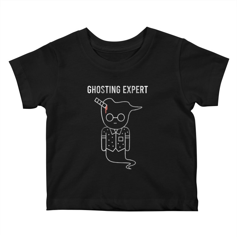 Ghosting Expert Kids Baby T-Shirt by Daniel Stevens's Artist Shop
