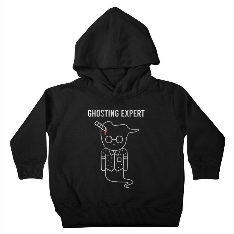 Ghosting Expert Kids Toddler Pullover Hoody by Daniel Stevens's Artist Shop