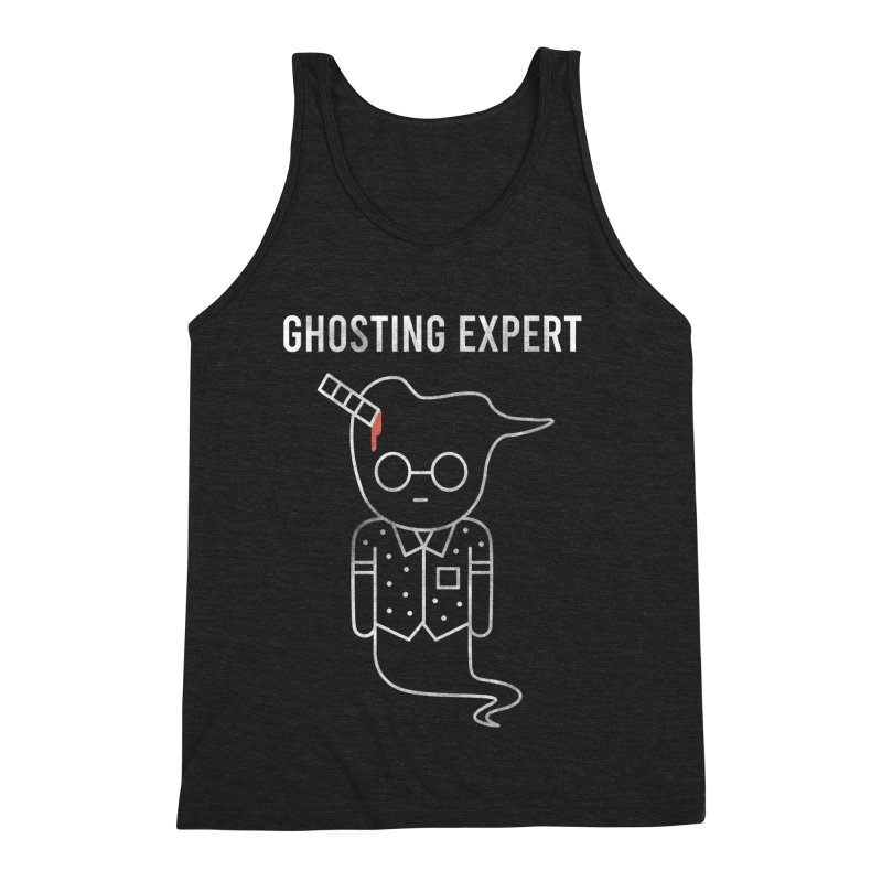 Ghosting Expert Men's Triblend Tank by Daniel Stevens's Artist Shop