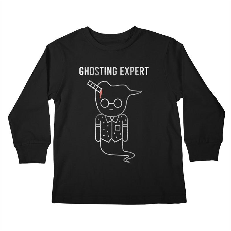 Ghosting Expert Kids Longsleeve T-Shirt by Daniel Stevens's Artist Shop
