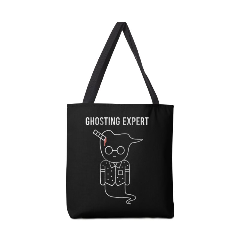 Ghosting Expert Accessories Tote Bag Bag by Daniel Stevens's Artist Shop