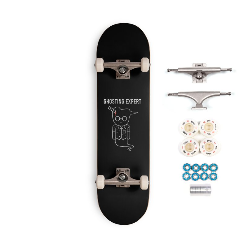 Ghosting Expert Accessories Complete - Premium Skateboard by Daniel Stevens's Artist Shop