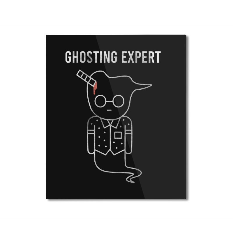 Ghosting Expert Home Mounted Aluminum Print by Daniel Stevens's Artist Shop