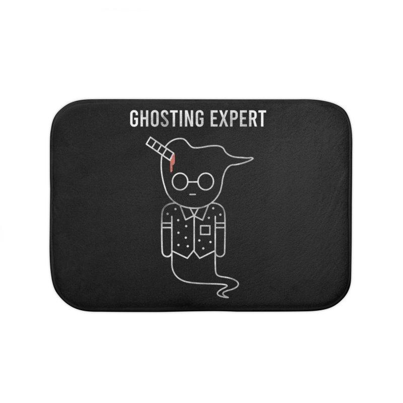 Ghosting Expert Home Bath Mat by Daniel Stevens's Artist Shop