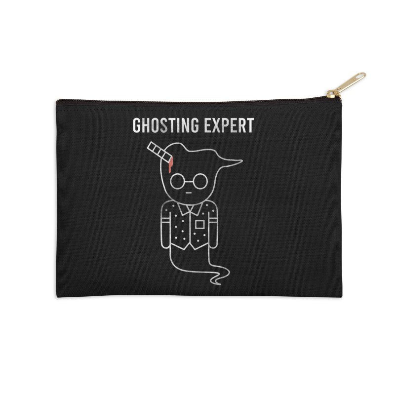 Ghosting Expert Accessories Zip Pouch by Daniel Stevens's Artist Shop