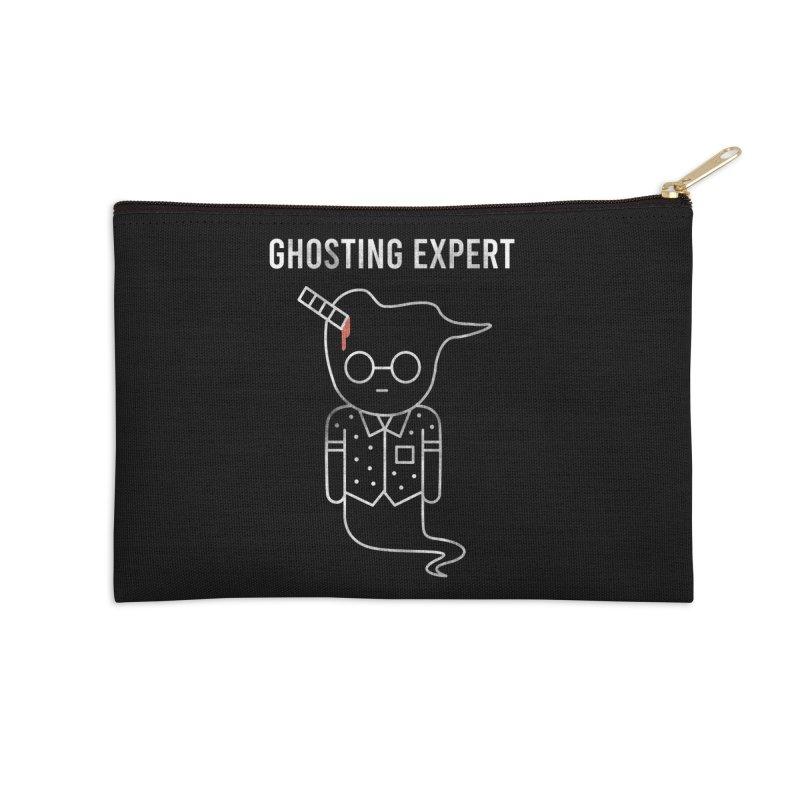 Ghosting Expert Accessories Zip Pouch by Daniel Stevens's Artist Shop