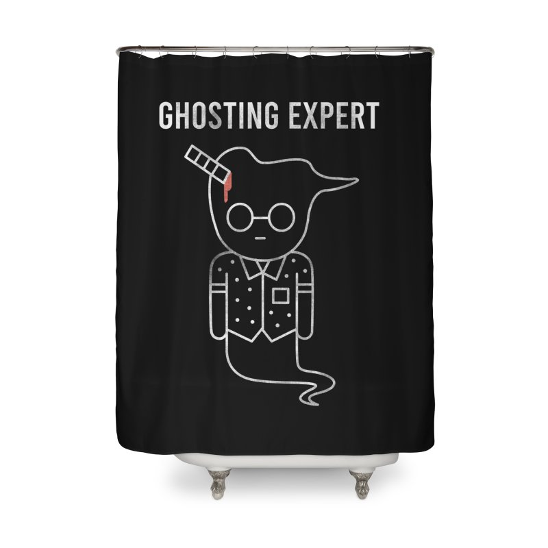 Ghosting Expert Home Shower Curtain by Daniel Stevens's Artist Shop