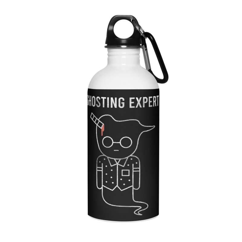 Ghosting Expert Accessories Water Bottle by Daniel Stevens's Artist Shop