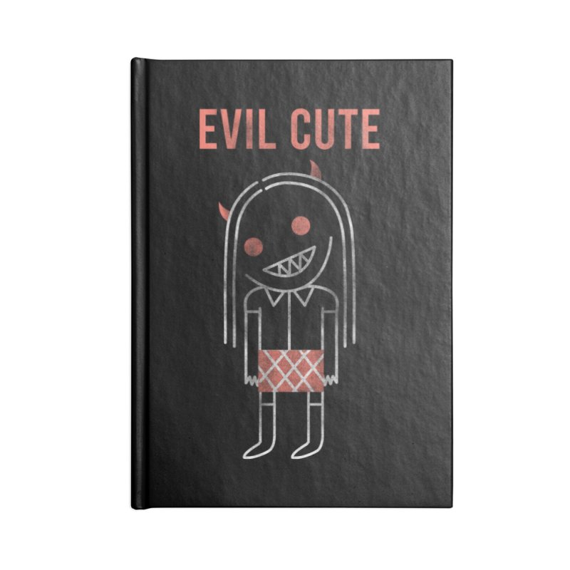 Evil Cute Accessories Blank Journal Notebook by Daniel Stevens's Artist Shop