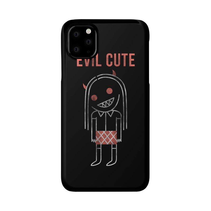 Evil Cute Accessories Phone Case by Daniel Stevens's Artist Shop