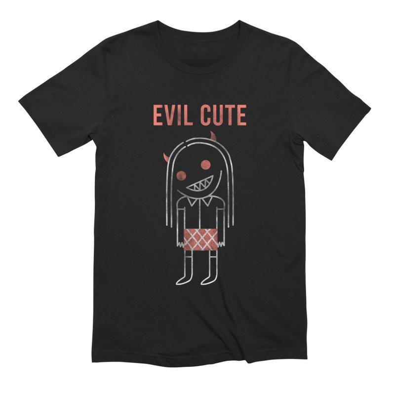 Evil Cute Men's T-Shirt by Daniel Stevens's Artist Shop