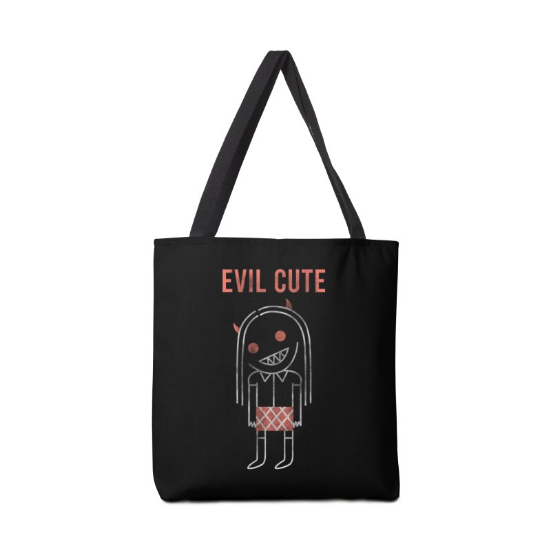 Evil Cute Accessories Tote Bag Bag by Daniel Stevens's Artist Shop