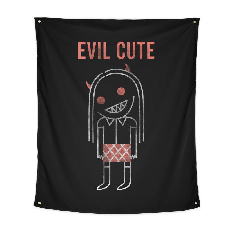 Evil Cute Home Tapestry by Daniel Stevens's Artist Shop