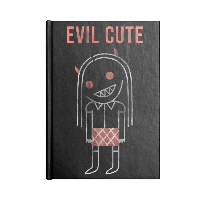 Evil Cute Accessories Blank Journal Notebook by Daniel Stevens's Artist Shop