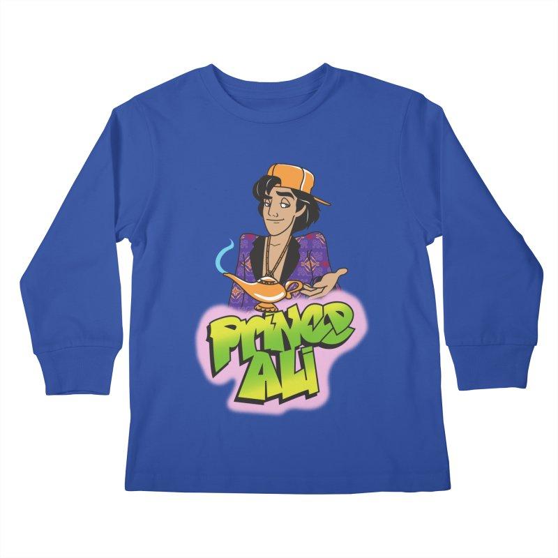 Prince Ali Kids Longsleeve T-Shirt by Daniel Stevens's Artist Shop
