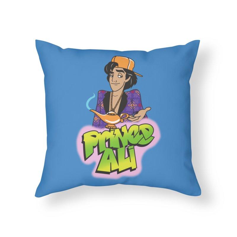 Prince Ali Home Throw Pillow by Daniel Stevens's Artist Shop