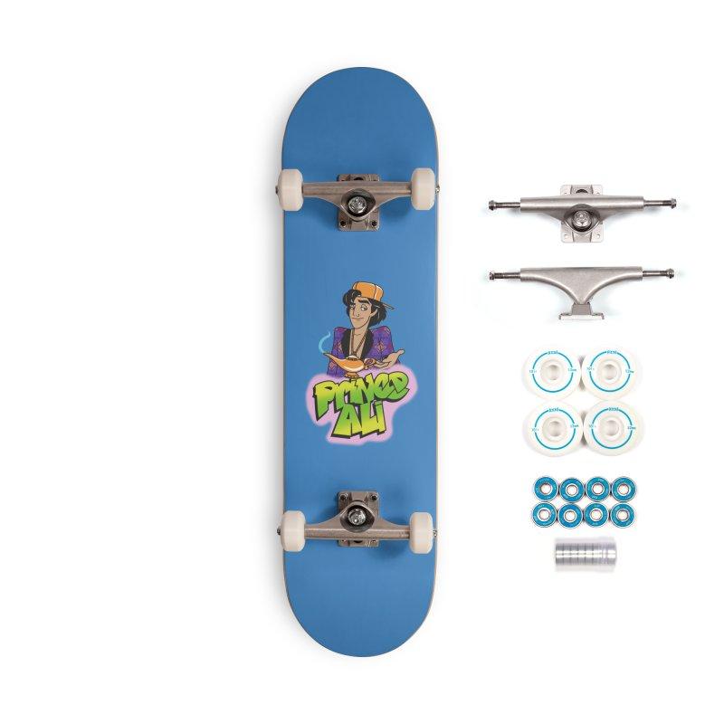 Prince Ali Accessories Complete - Basic Skateboard by Daniel Stevens's Artist Shop