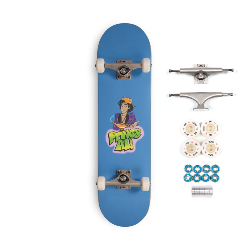 Prince Ali Accessories Complete - Premium Skateboard by Daniel Stevens's Artist Shop