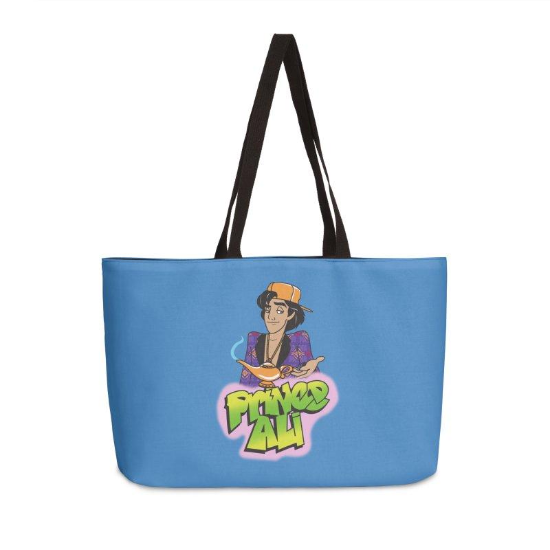 Prince Ali Accessories Weekender Bag Bag by Daniel Stevens's Artist Shop