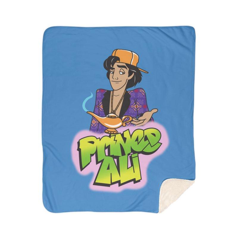 Prince Ali Home Sherpa Blanket Blanket by Daniel Stevens's Artist Shop