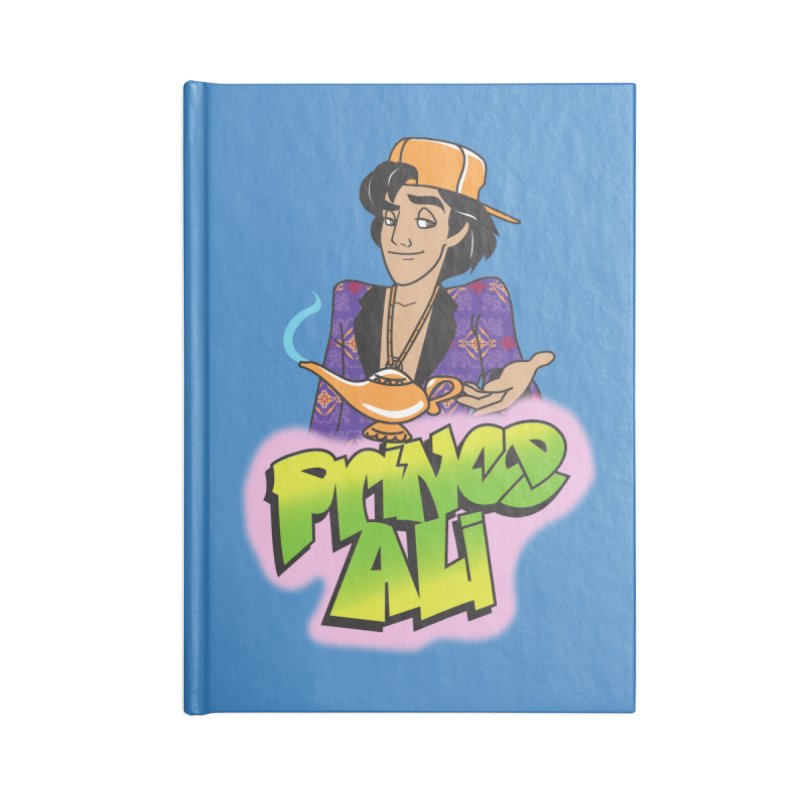 Prince Ali Accessories Blank Journal Notebook by Daniel Stevens's Artist Shop