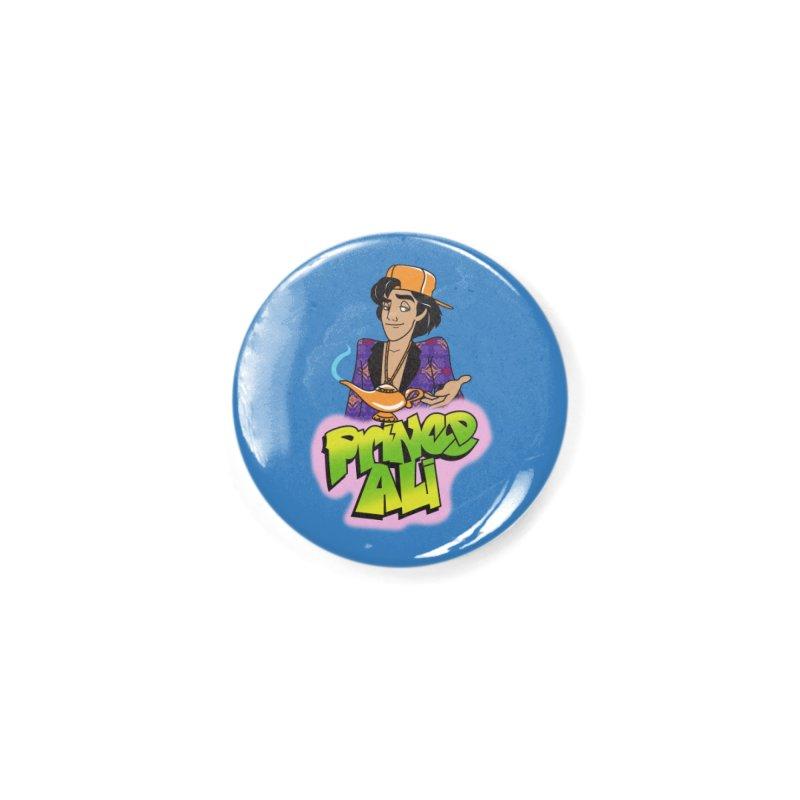 Prince Ali Accessories Button by Daniel Stevens's Artist Shop