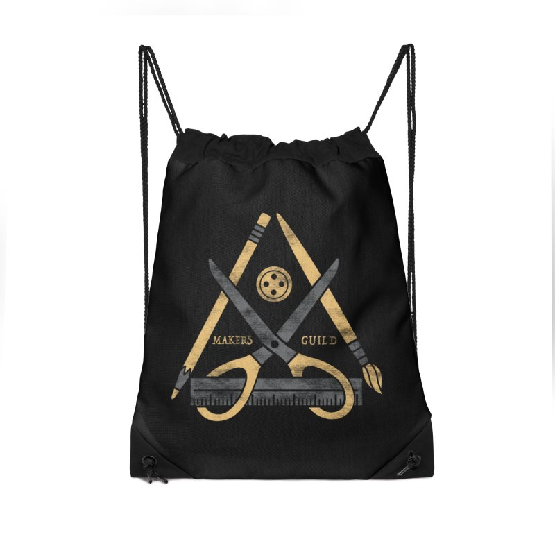 Makers Guild Accessories Drawstring Bag Bag by Daniel Stevens's Artist Shop