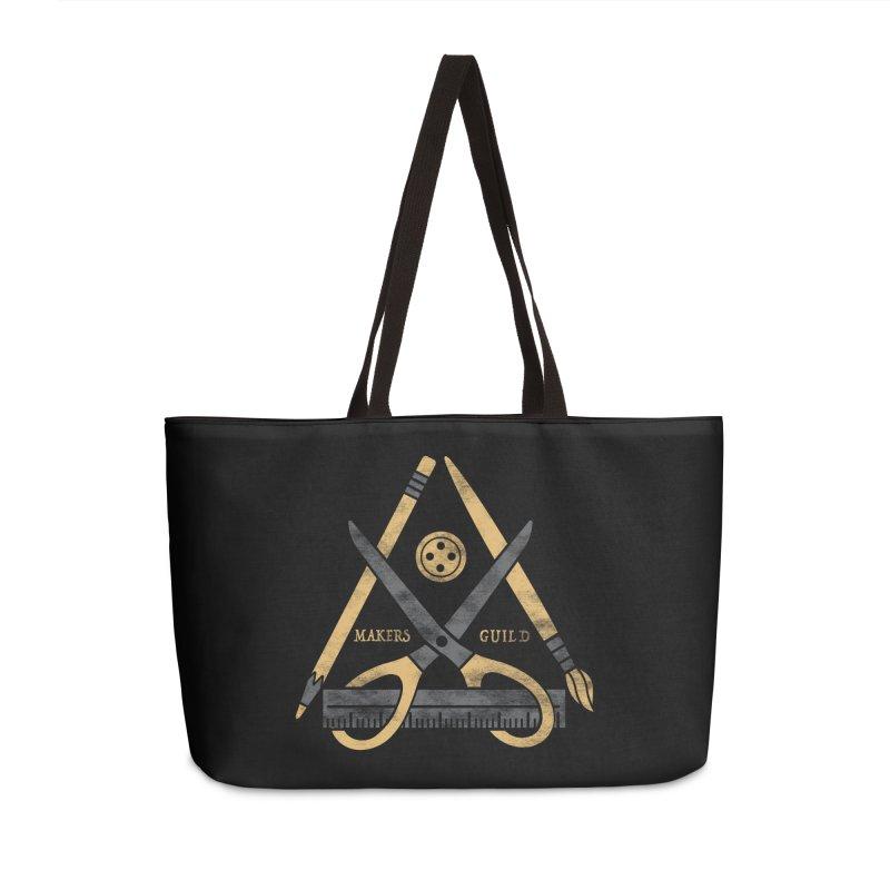 Makers Guild Accessories Weekender Bag Bag by Daniel Stevens's Artist Shop