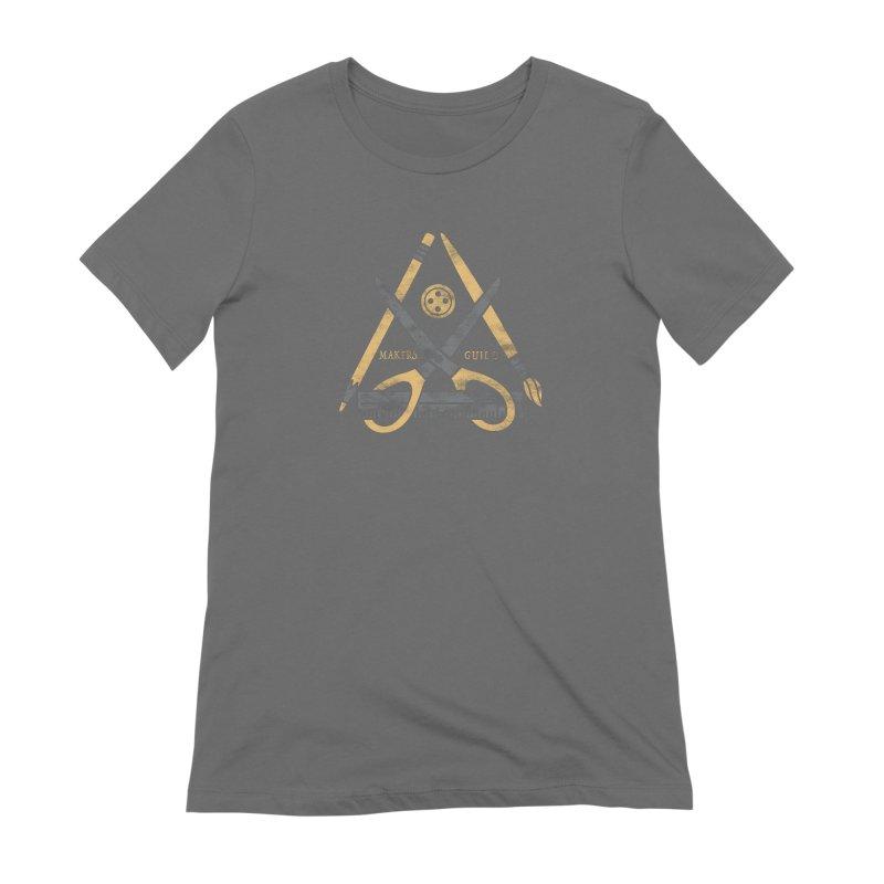 Makers Guild Women's Extra Soft T-Shirt by Daniel Stevens's Artist Shop