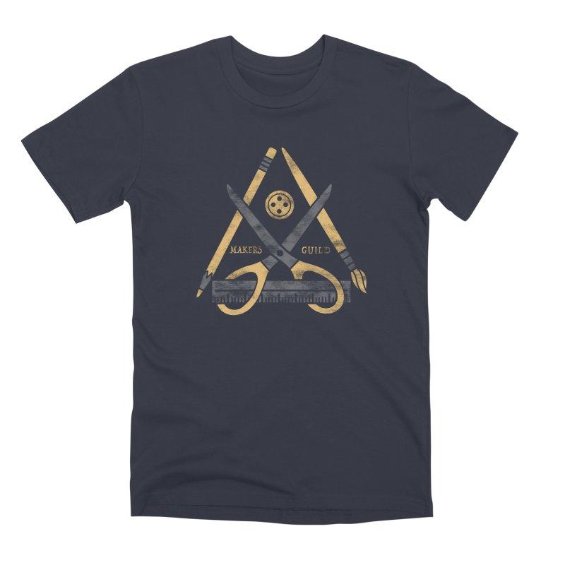 Makers Guild Men's Premium T-Shirt by Daniel Stevens's Artist Shop