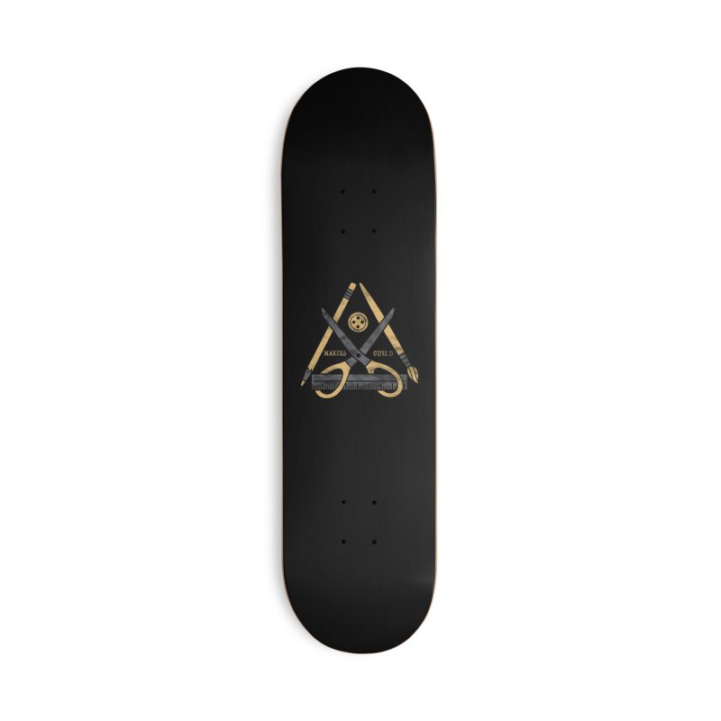 Makers Guild Accessories Deck Only Skateboard by Daniel Stevens's Artist Shop