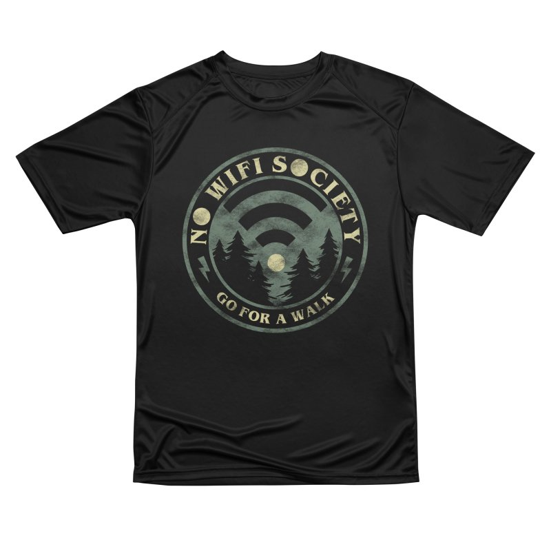 No Wifi Society Women's T-Shirt by Daniel Stevens's Artist Shop