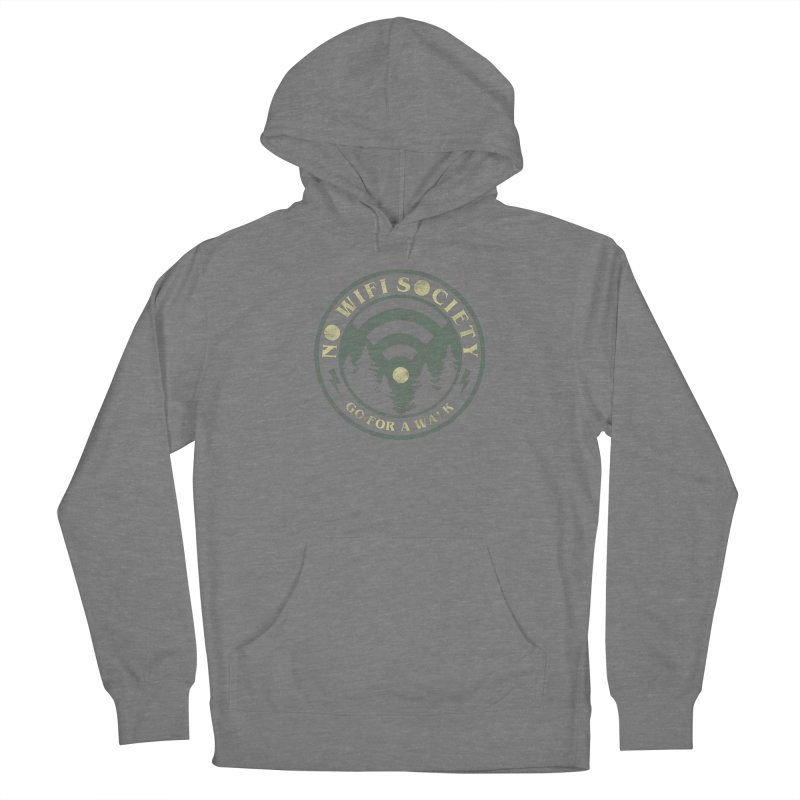 No Wifi Society Women's Pullover Hoody by Daniel Stevens's Artist Shop