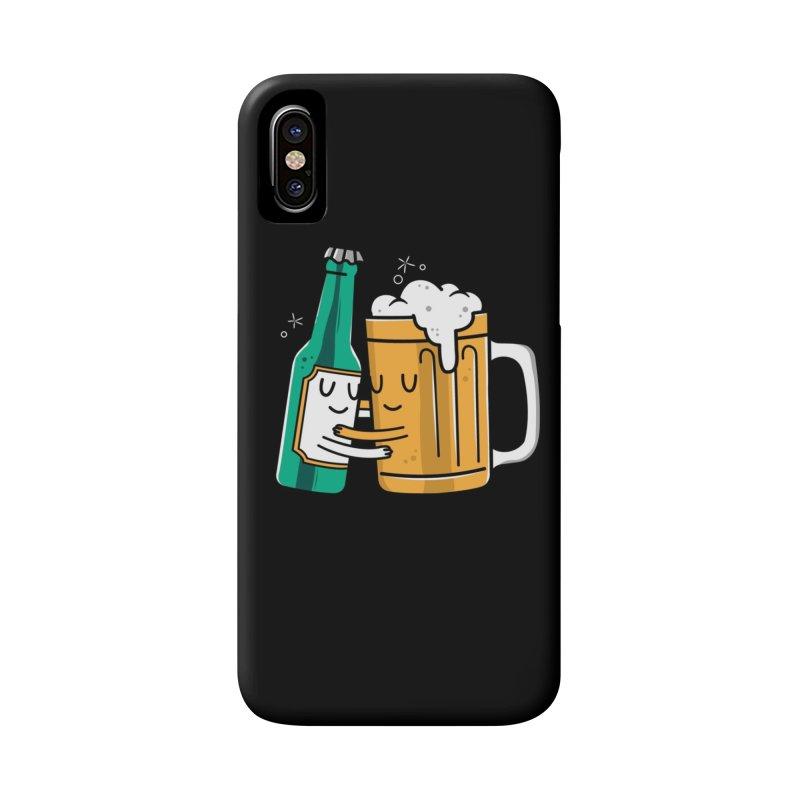 Beer Hug Accessories Phone Case by Daniel Stevens's Artist Shop