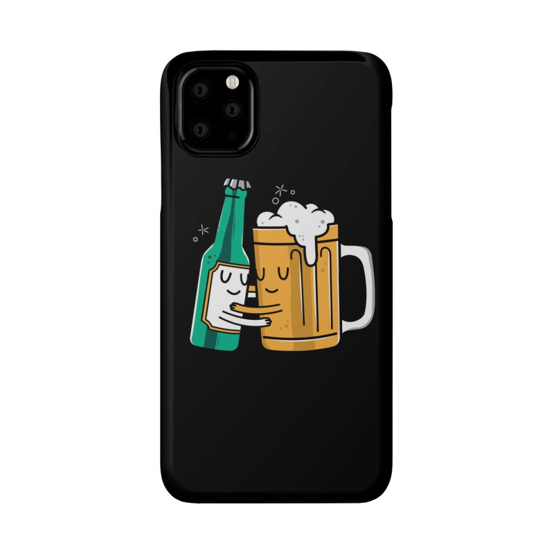Beer Hug Accessories Phone Case by Daniel Stevens's Artist Shop