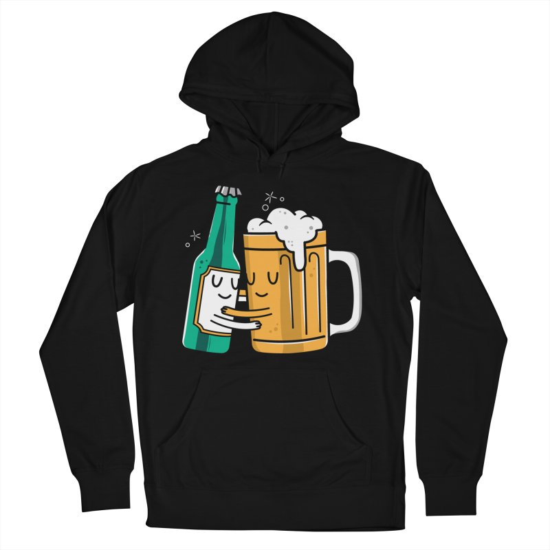 Beer Hug Women's Pullover Hoody by danielstevens's Artist Shop