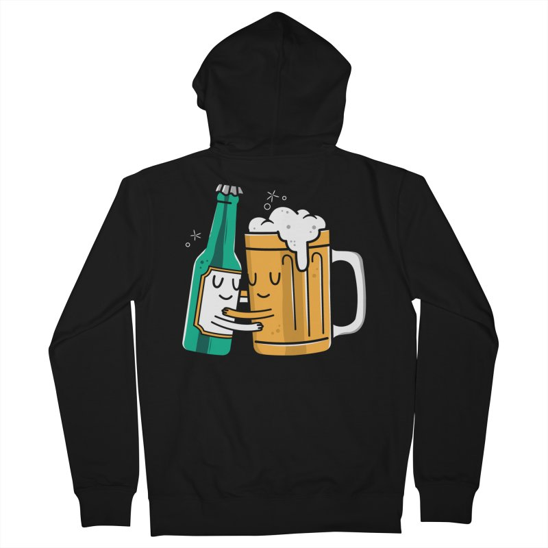 Beer Hug Men's Zip-Up Hoody by danielstevens's Artist Shop