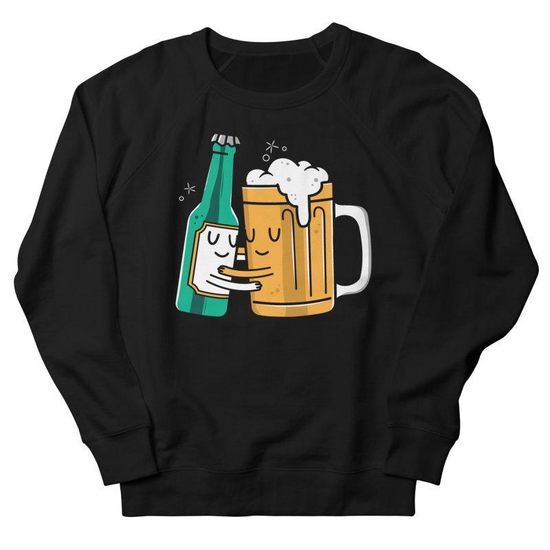 Beer Hug Men's Sweatshirt by danielstevens's Artist Shop
