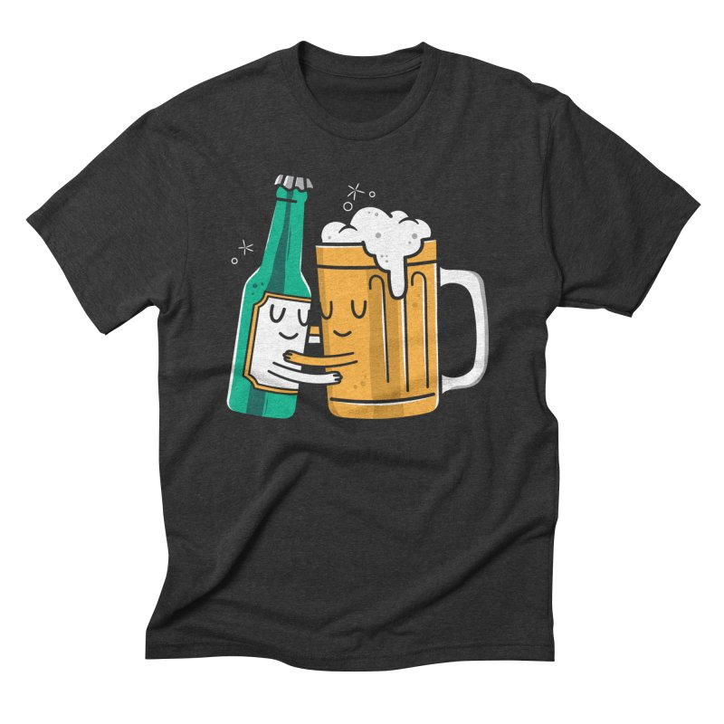 Beer Hug Men's Triblend T-shirt by danielstevens's Artist Shop