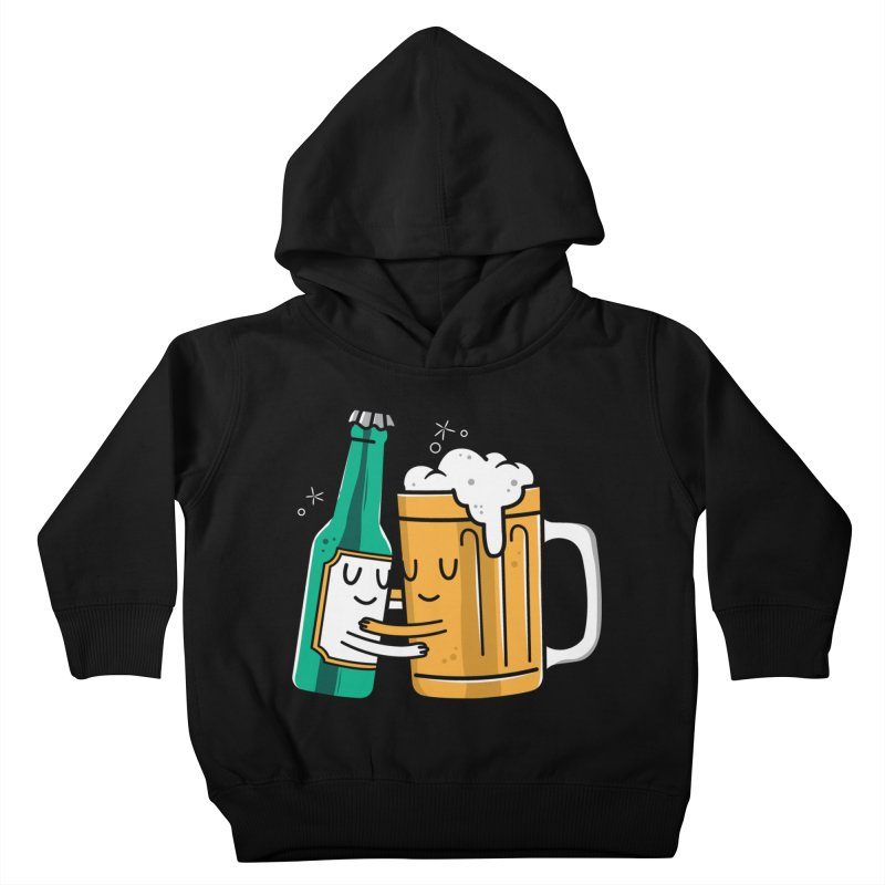 Beer Hug Kids Toddler Pullover Hoody by danielstevens's Artist Shop