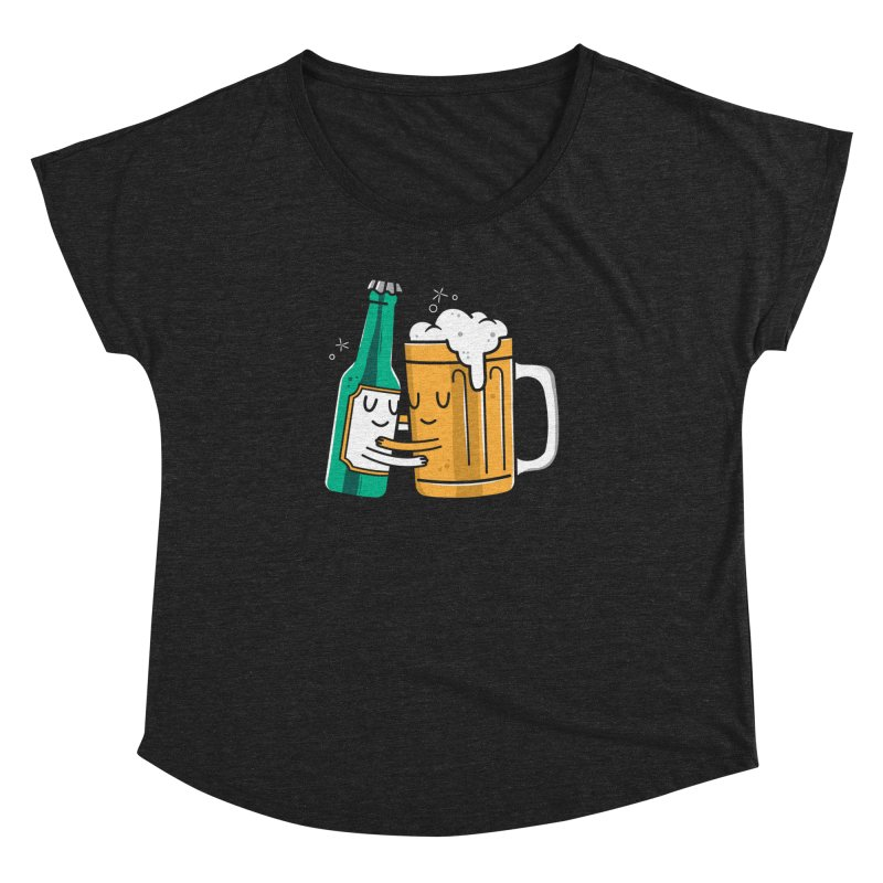 Beer Hug Women's Dolman by danielstevens's Artist Shop