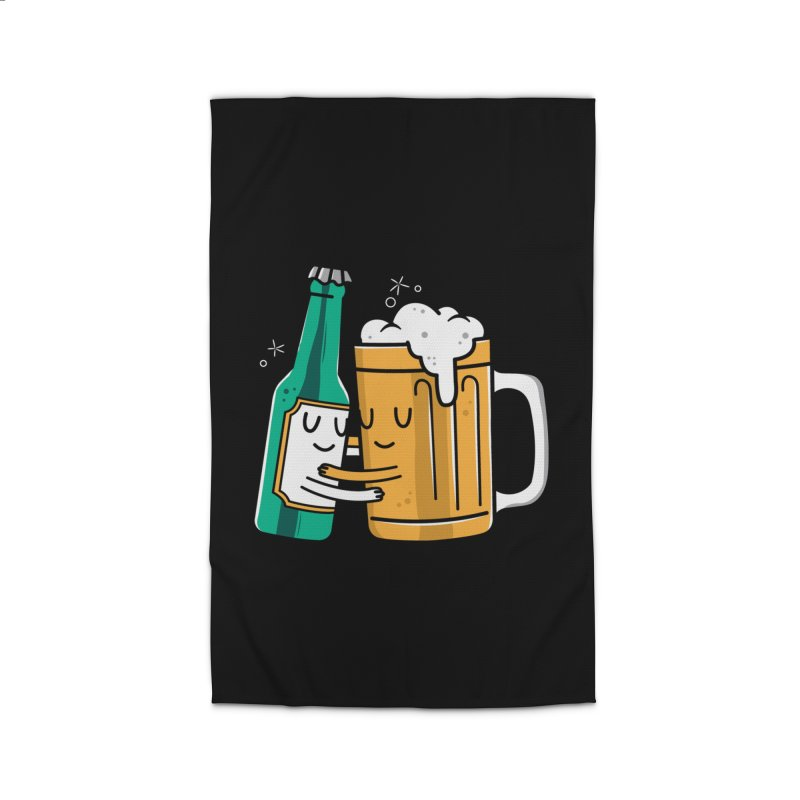 Beer Hug Home Rug by danielstevens's Artist Shop