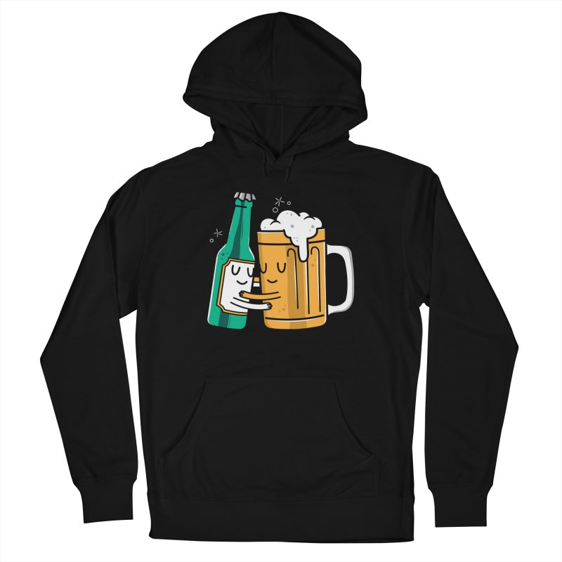 Beer Hug Women's French Terry Pullover Hoody by Daniel Stevens's Artist Shop