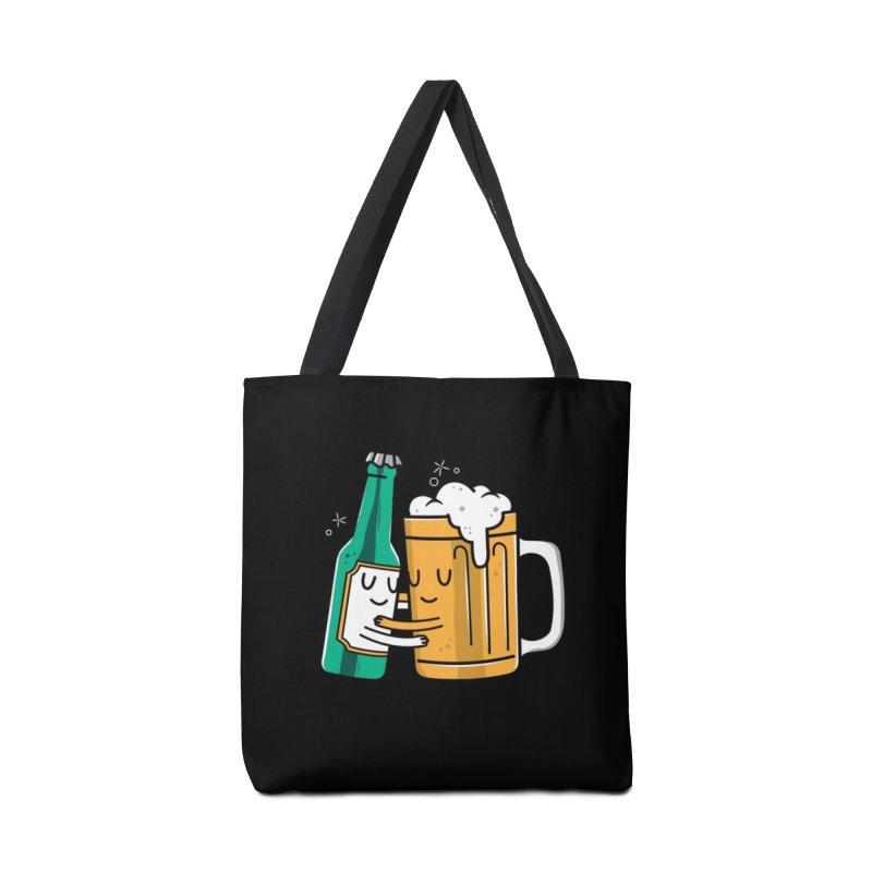 Beer Hug Accessories Bag by danielstevens's Artist Shop